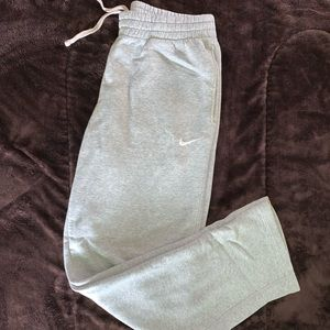 Nike Grey Sweatpants Mens Medium Loose Fit